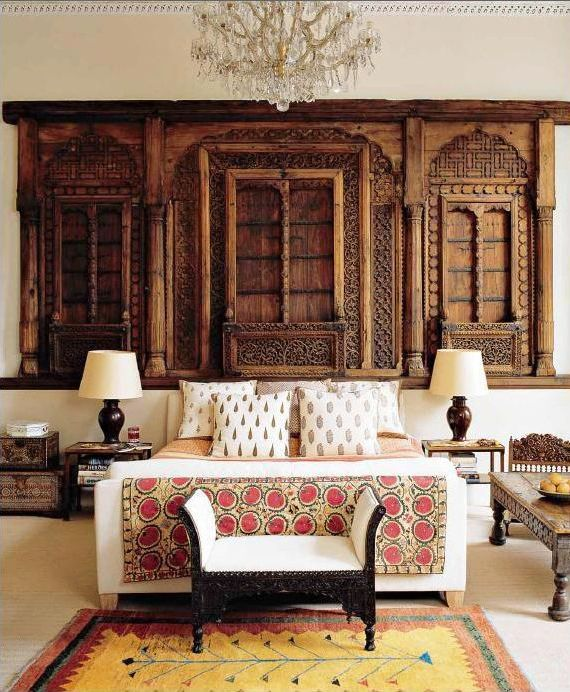 Indian Bedroom By Designer Matthew Patrick Smyth Elle Decor December 2005