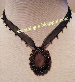 Sweet Candy Wraped In Brown Necklace