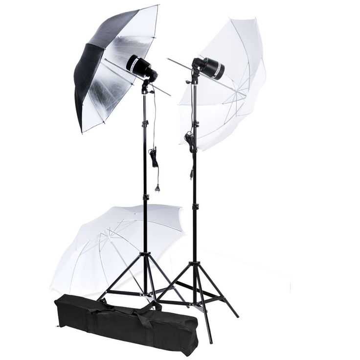 Photo Studio Strobe Light AC Slave Flash Umbrella Lighting Holder Stand Kit Hot #UnbrandedGeneric