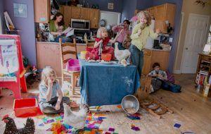 Família numerosa: Estão doidos???