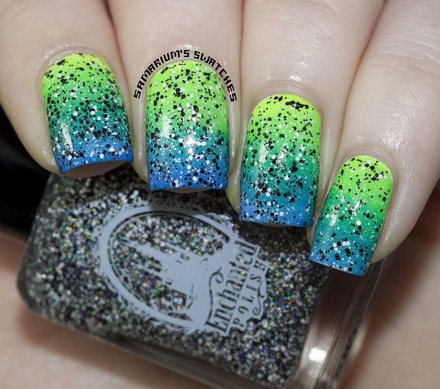 Enchanted Polish Seven Nation Army (3) by Samarium's Swatches, via Flickr