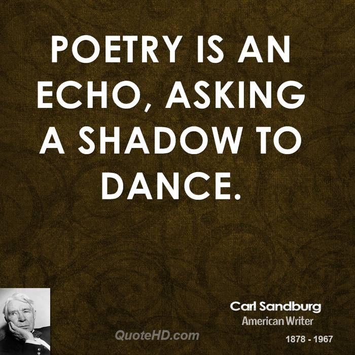 Carl Sandburg Poetry Quotes   QuoteHD