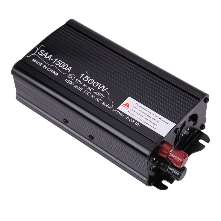 New 1500W 12V DC-230V AC Mini Off Grid Pure Sine Wave Inverter Car Solar Power Inverter Modified Conventer  * This is an AliExpress affiliate pin.  Find similar products on AliExpress website by clicking the VISIT button