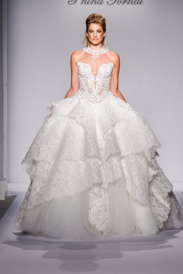 Elegant  Pnina Tornai Wedding Dress Collection
