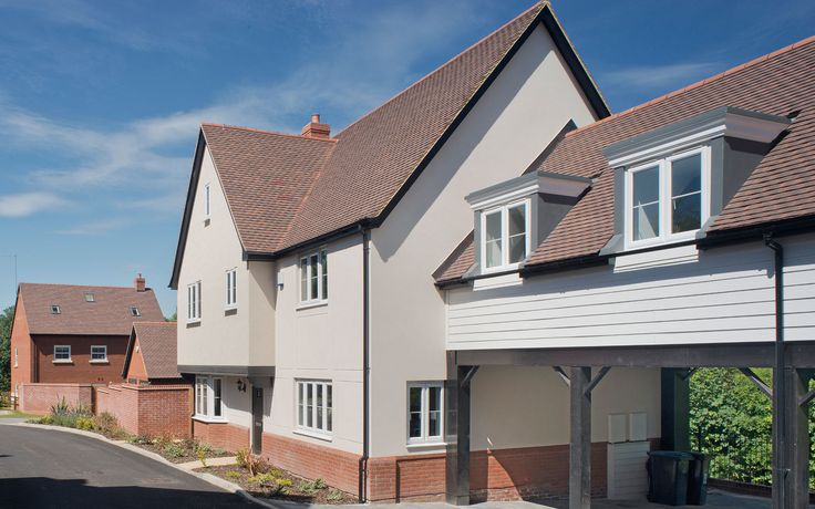 As well as planning permission, Kier Living also secured approval from the Urban Design Team at Essex County Council for the use of Marley Eternit's Acme Double Camber tiles. #DoubleCamber #Clayplaintiles