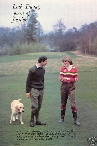 Lady Diana Spencer 1981 | Prince Charles & Lady Diana Spencer at Balmoral-1981 photo ...