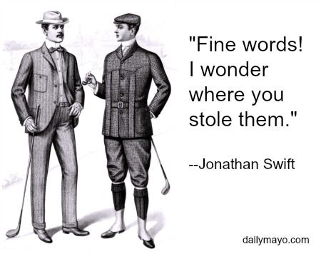 12 Witty Insults from Your Favorite Authors | Daily Mayo
