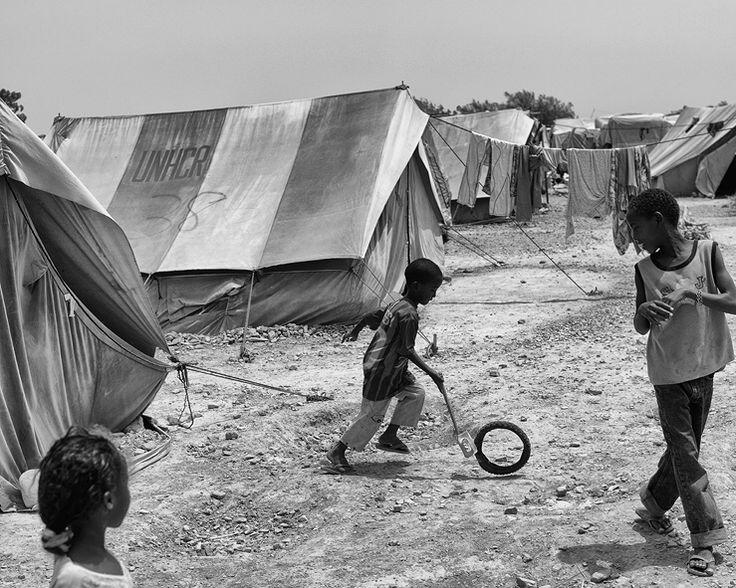 Samuel Aranda. Yemen. Refugiats