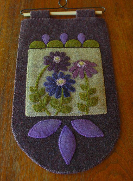 Apliques de lana modelo Púrpura de la por HorseAndBuggyCountry