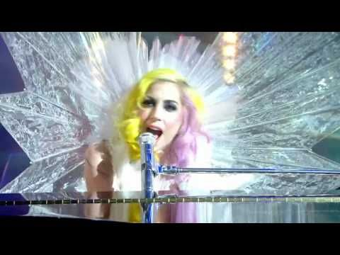 I will always love The Lady:  Lady GaGa - Brown Eyes (Live on Jonathan Ross) [HD]