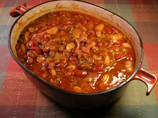 Grandma Beckys Calico Beans Recipe - Food.com