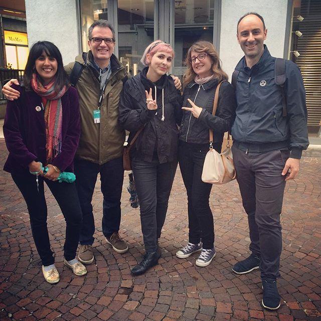 Maga animation team at Annecy 2016 #magaanimation #maga20years #team…