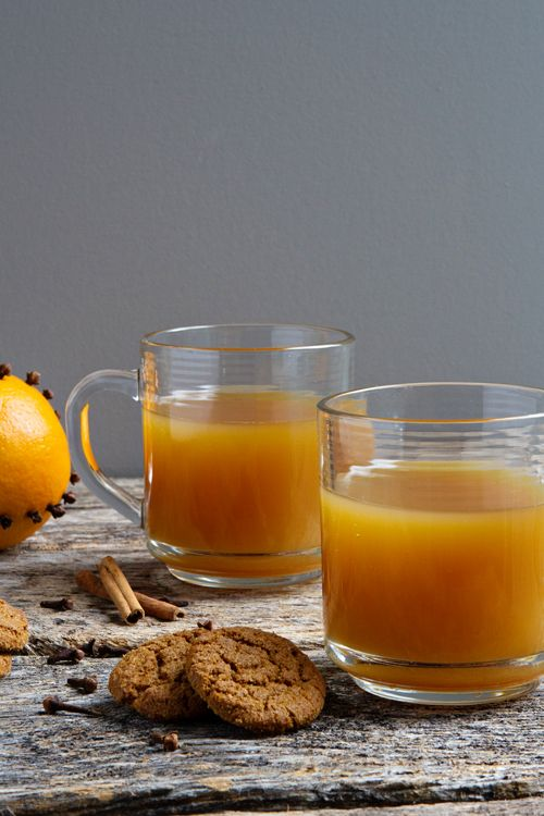 Wassail Recipe- Made with plenty of warm spices like cloves, nutmeg ...