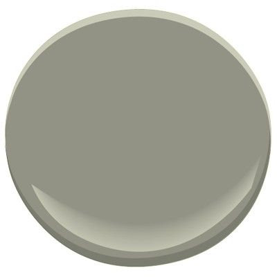 Initially chose Creekside Green for our Laundry and Mudroom but while it was still in the paint can/tin it looked a little too green for my taste. Fabulous Benjamin Moore paint people at my local store tweeked it more towards this Storm Cloud Gray.