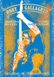 Cod. 178  Rory GALLAGHER  Hordern Pavillon Sydney ShowGround  Sydney  Australia  8 February 1975