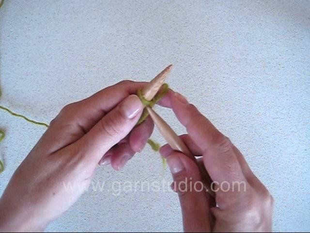 DROPS Knitting Tutorial: How to do the cable cast on