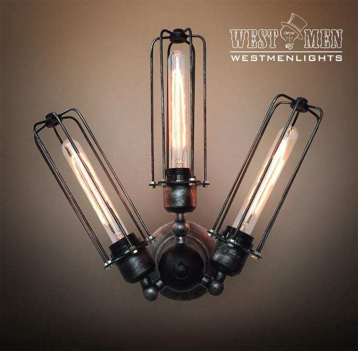 Westmenlights Adjustable Arm Cage Wall Sconce Lamp Rustic Industrial Windmill Stair Corridor Light