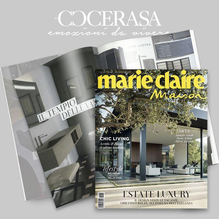 Marie Claire Maison -  Luglio-Agosto 2017 #press #release #magazine #newspaper