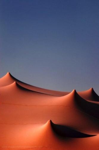 Nomadik Stretch Tents: Burnt Orange
