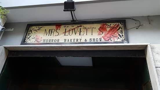 A Salerno, la prima panic room horror: Mrs. Lovett Horror Bakery!