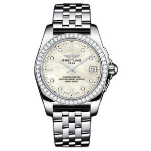 12bb1edb3d2 Breitling Galactic 36 Diamond Ladies Watch