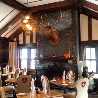 Top 25 ideas about waldhaus restaurant at fairmont banff for Open table 99 park
