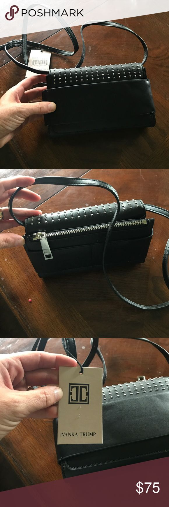 Ivanka Trump Cross Body Ivanka Trump Cross Body . Black , New with tags Ivanka Trump Bags Crossbody Bags
