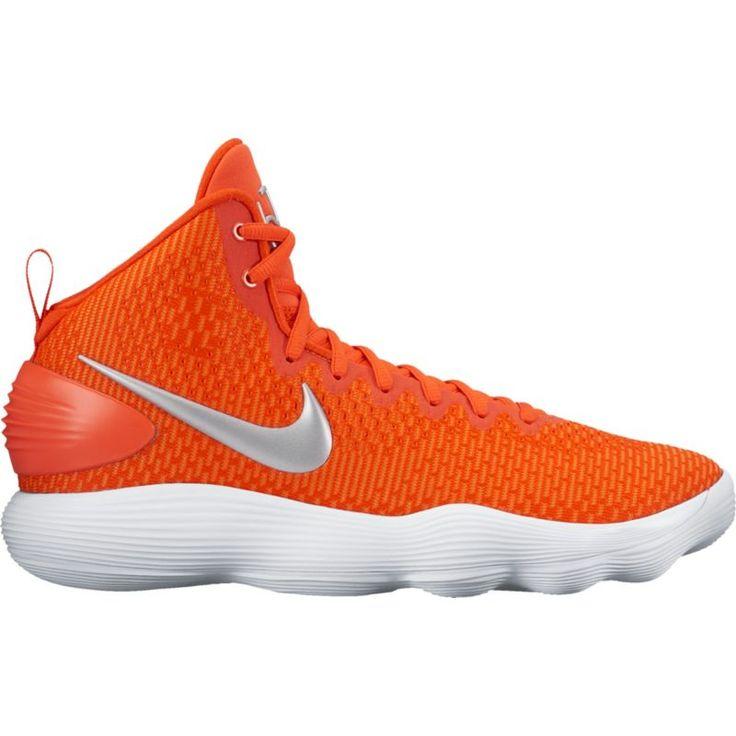 Nike Men's React Hyperdunk 2017 Basketball Shoes, Orange