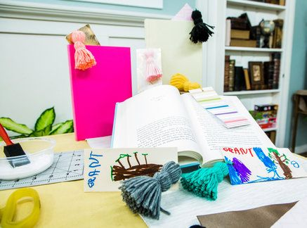 Take the hassle out of tassels with Maria Provenzano's DIY Tassel Bookmarks! Don't miss Home & Family weekdays at 10a/9c on Hallmark Channel!
