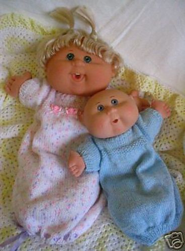 Ravelry: Keyla PDF doll clothes - to suit 11 & 14in Cabbage Patch Kids Babies & Newborns pattern by Miss Meggy Designs