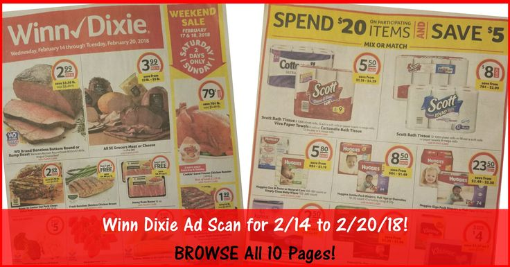 Who is ready to start working on their Winn Dixie Shopping List for 2/14? BROWSE all 10 Pages of the Actual Winn Dixie Ad Scan for 2/14 to 2/20/18 ► http://www.thecouponingcouple.com/winn-dixie-weekly-ad-2-14-18/  #Coupons #Couponing #CouponCommunity  Visit us at http://www.thecouponingcouple.com for more great posts!