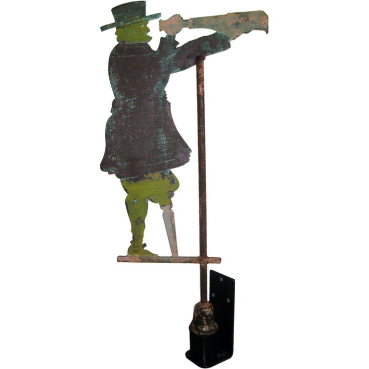 Sailor Weathervane | From a unique collection of antique and modern weathervanes at http://www.1stdibs.com/furniture/folk-art/weathervanes/