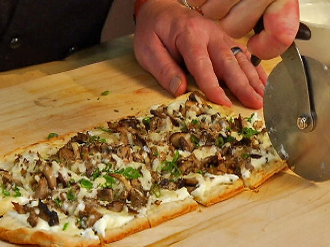 Duck Confit and Wild Mushroom Flatbread