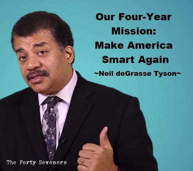 Neil deGrasse Tyson For PRESIDENT!!!!
