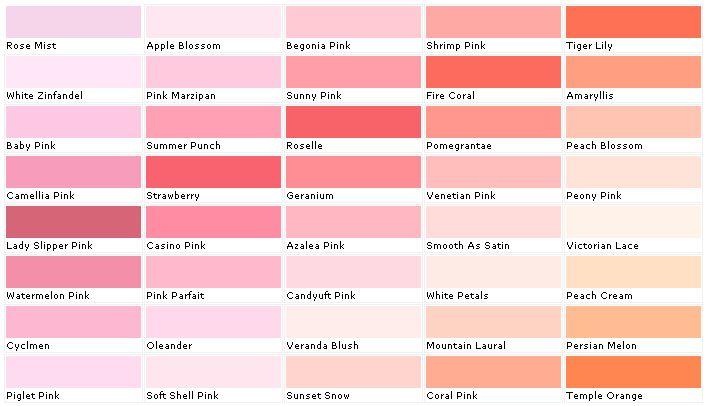 Purple Paint Color Names