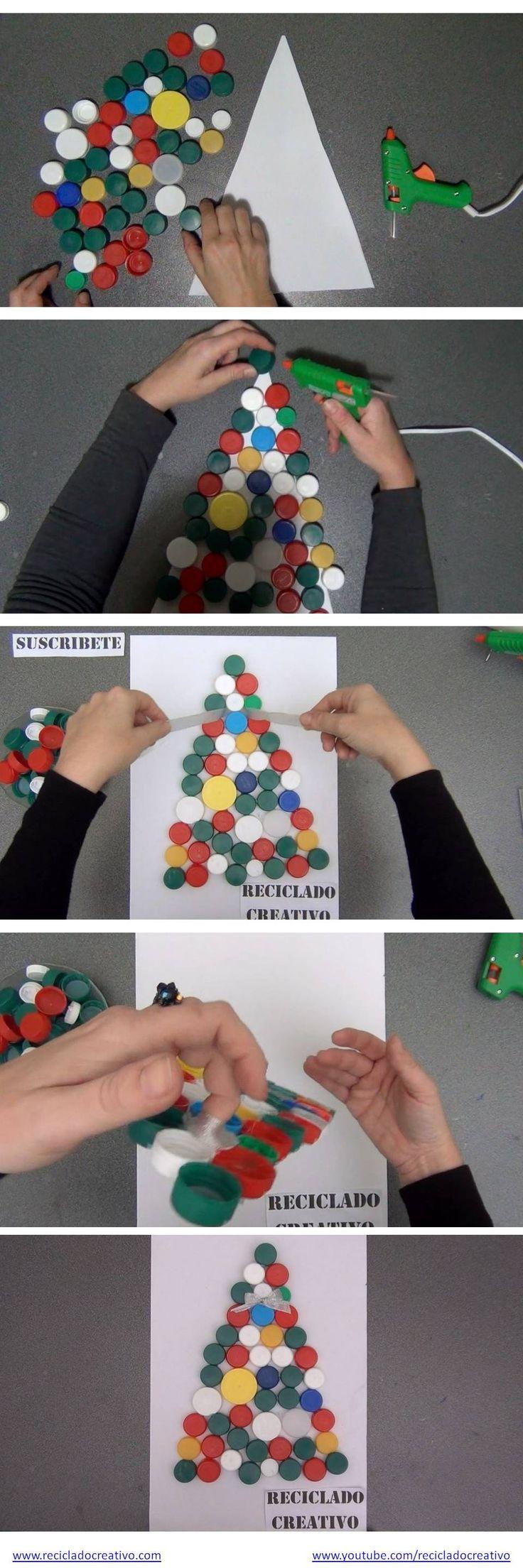 ms de ideas increbles sobre tapas de botella de plstico en pinterest con recliclaje botella plstica y bricolaje de cd