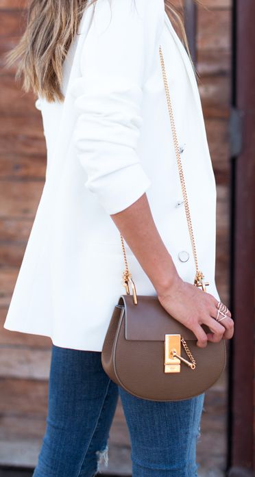 Chlo�� - Drew on Pinterest | Chloe, Leather Shoulder Bags and ...