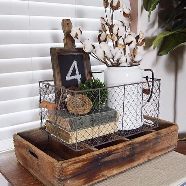 Perfect for organizing just about anything- kitchen linens, office supplies, books and magazines, toiletries, even kid's toys! Featuring a rustic finish and rec