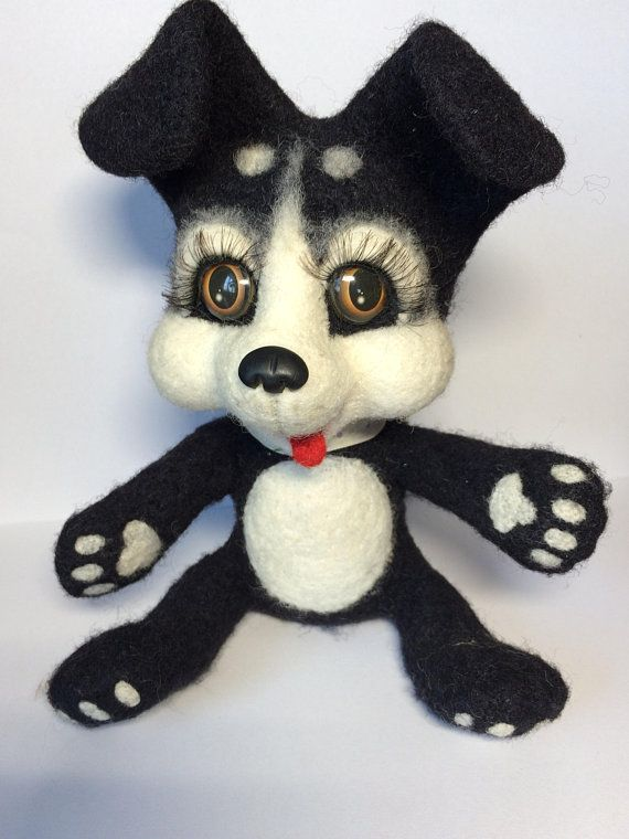 Wool Dog Toy Black White Dog Dog Toy For Gifts Dog For Children