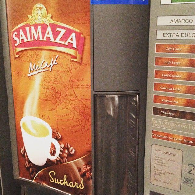 #Vending de #Calidad con #Café #Saimaza y #Chocolate #Suchard #Coffeelovers