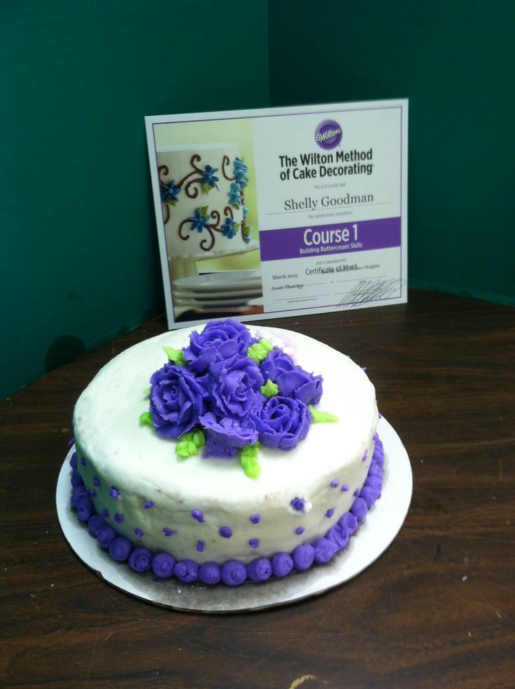Building Buttercream Skills Class 1 Wilton Cake Decorating Classes at Hobby Lobby..come join ...
