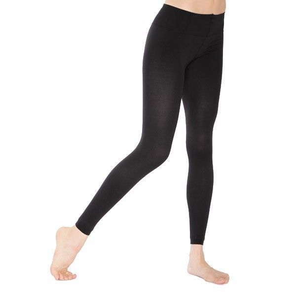 Women Wearing Legging Compression Tights