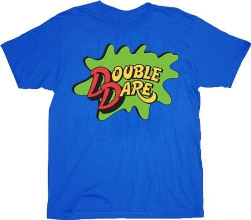 Double Dare Logo Costume Adult T-shirt Tee