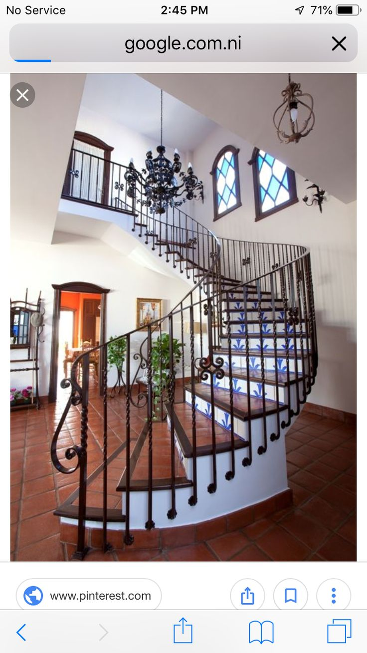 Best Pin By Gea Schmid On Stairs Hacienda Style Homes 400 x 300