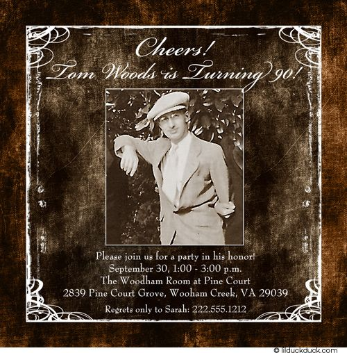 75th Birthday Dinner And Dancing Invitation Wording Ideas 1000 Images About Dads 90th Bday