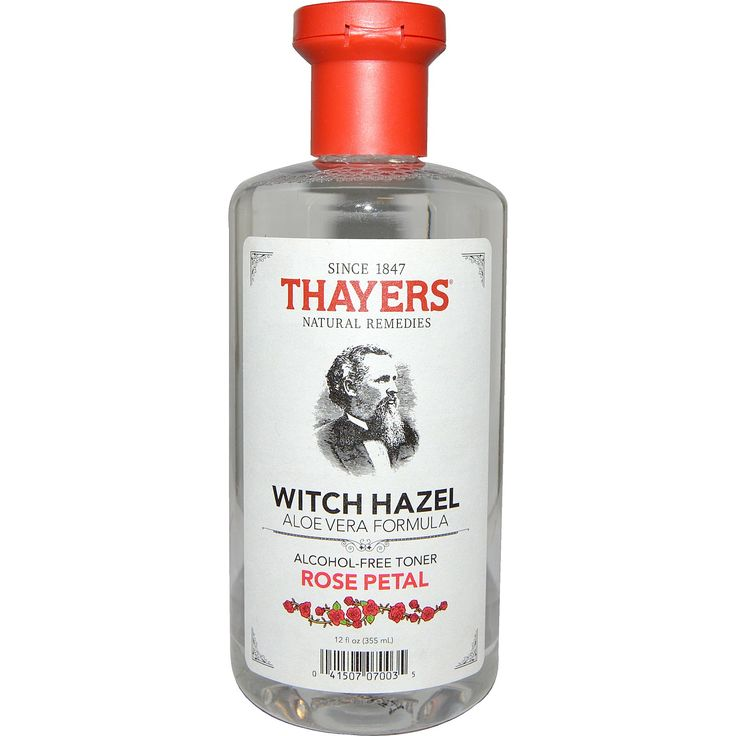 Thayers, Witch Hazel, Aloe Vera Formula, Alcohol-Free Toner, Rose Petal, 12 fl oz (355 ml)