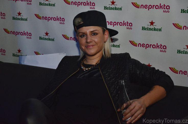 Christina Novelli in Prague 2015