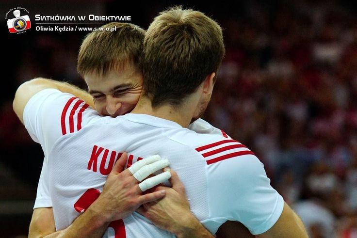 #FIVBMensCH Mario #Wlazly i Misiek #Kubiak