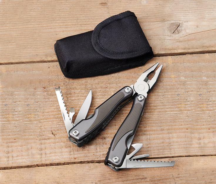14,99 € Werkzeug mit 12 Funktionen – der Werkzeugkasten für die Hosentasche  Dieses Multitool ist hochwertig verarbeitet.