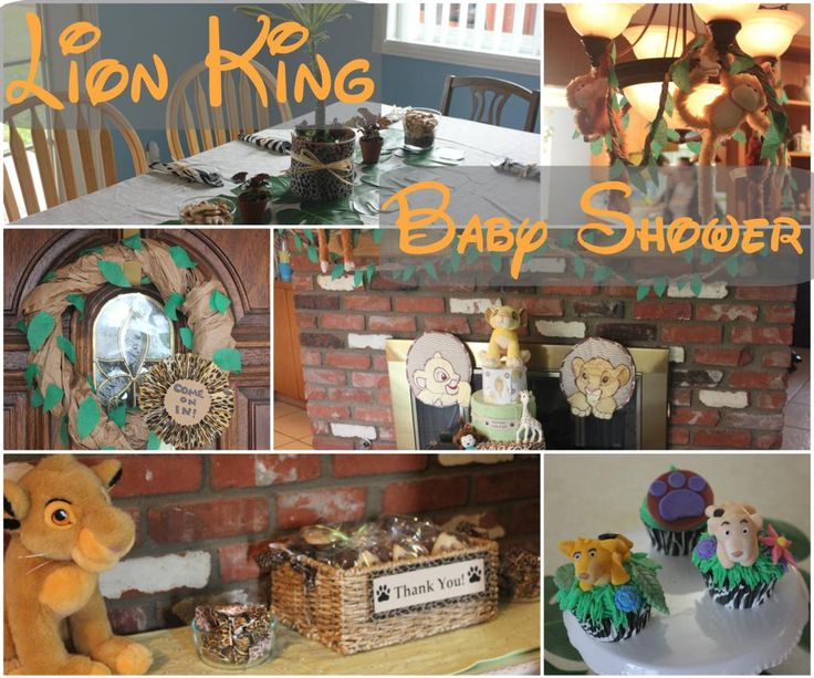 lion king baby shower lion king jungle baby shower pinterest